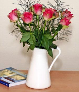 Livraison de Fleurs Roses délicates