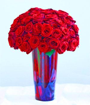 Livraison de Fleurs Roses rouges deluxe